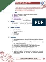 LABORATORIO DE MECÁNICA DE FLUIDOS E HIDRÁULICA