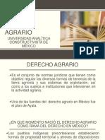 Derecho Agrario 5to 1