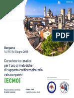 ECMO 2018 Programma