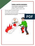 Extintores Contra Incendio
