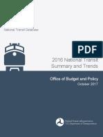 2016-National Transit Database