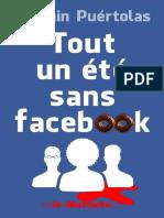 Tout Un Été Sans Facebook