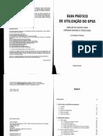Alexandre Pereira - Guia Prático de Utilizadores de SPSS