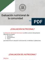 Evaluacion Estado de Nutricion