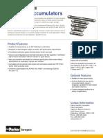 HSD Hydraulic Accumulators