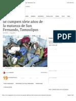 Se cumplen siete años de la matanza de San Fernando, Tamaulipas | Van.pdf