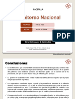 Informe Mayo - Gacetilla