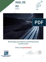 Metodologia Red de Carreteras Base INEGI SCT Precisiones 2014-01-27