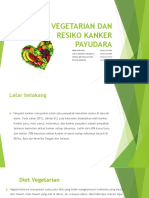 Diet Vegetarian Dan Resiko Kanker Payudara
