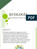 Presentación de Ecología Unidad 1
