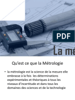 Metrologie DS