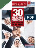 30 Mejores Empresas Para Trabajar 2009