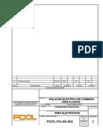 4.POOL-PO-AE-004 Rev. 0  Aislación Electrica de cañerias de planta.doc