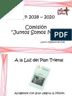 Presentacion Plan Trienal Juntos Somos Mas 2018-2020
