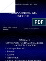 Power Point Teoria General Del Proceso Capitulo 1 1226977745027190 9