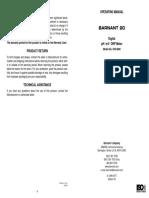Manual Barnant 20 Ph