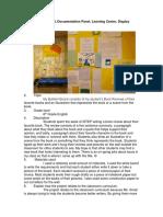 bullet board - documentation panel