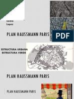 Plan Haussmann Paris