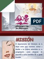 Ministerio de La Mujer ppt