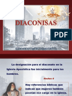Diaconisas - ppt