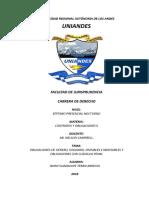 Obligaciones de Genero Solidarias Div e Ind. Clausula Penal