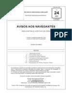 Aviso Aos Navegantes 24 2017