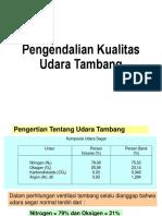 02. Pengendalian Kualitas Udara Tambang
