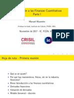 IntroduccionAFinanzasCuantitativas IC 2017 1