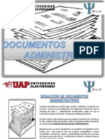 Diapositivas- Documentos Administrativos- Comunicacion II - Kehi Meybi Landeo Rivera- 2017203112- Dued Ayacucho