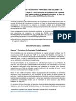 Estados Financieros Cine Colombia 2012- 2017