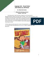 novel study - flat stanley