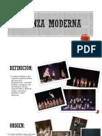 Presentación de Danza
