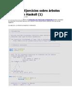 Arboles en Haskell