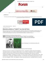 Marxista Anteviu a _matrix_ Na Crise Da Física - Revista Fórum