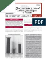 CIP_15_Aditivos Químicos Para Concreto