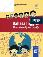 Buku Guru Bahasa Inggris SMPMTs Kelas IX Kurikulum 2013 Edisi Revisi 2018