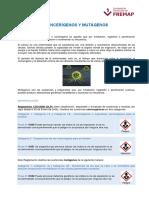 Información Cancerígenos y Mutágenos