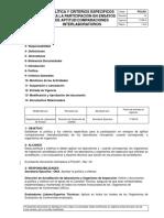 POL001 Pol y Criterios Para La Partic.en Ensayos de Aptitud Rev 04Vig.17!08!16