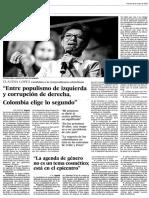 ELECCIONES EN COLOMBIA. ENTREVISTA A CLAUDA LÓPEZ, CANDIDATA A LA VICEPRESIDENCIA