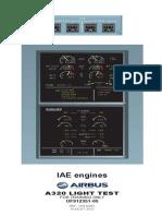 IAE Light Test On