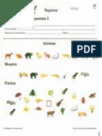 WISC-IV. Cuadernillo de respuestas 2. Registros (animales).pdf
