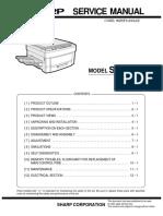 Sharp Sf-1118 Service Manual