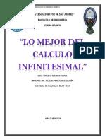 LO MEJOR DEL CALCULO INFINITESIMAL -  Carlos Fernández Mariño - Universidad mayor de san andrés.pdf
