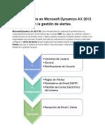 Envío de emails en Microsoft Dynamics AX 2012 R3 basados en la Gestión de Alertas