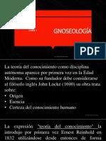 Gnoseología 2018
