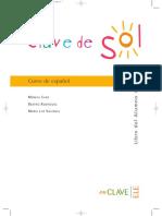 Clave de Sol 1 Libro