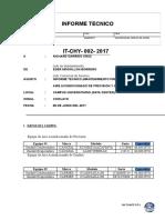 Informe Tecnico - Mantenimiento Preventivo a Equipo de a.a de Precision y Confort - Junio - U.S.S