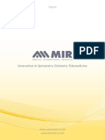 Spirometer MIR Catalog