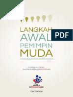 Langkah Awal Pemimpin Muda - Buku Profil Alumni