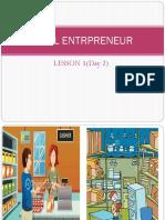 Ideal Entrepreneur Grade 6